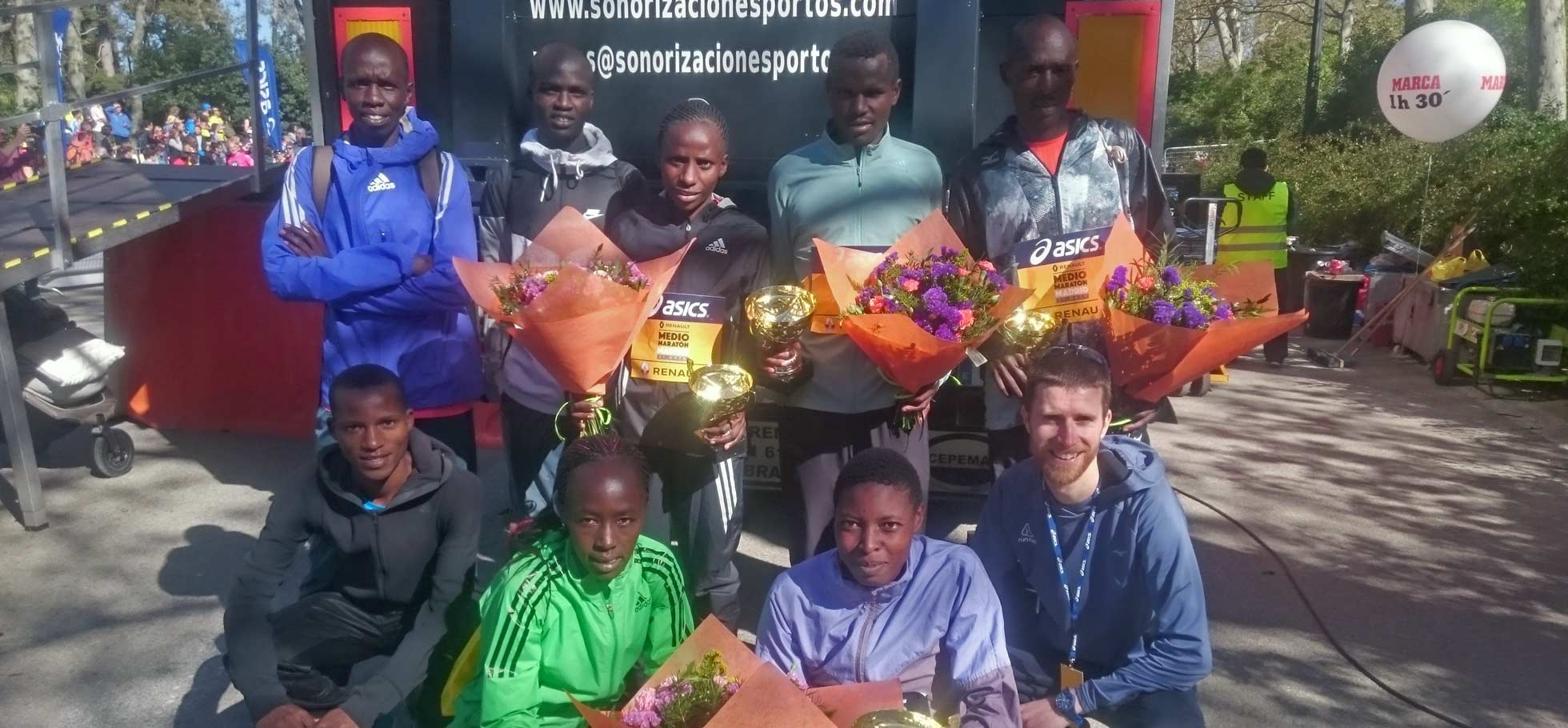 TEAM RUN-FAST athletes Collect four trophies in madrid