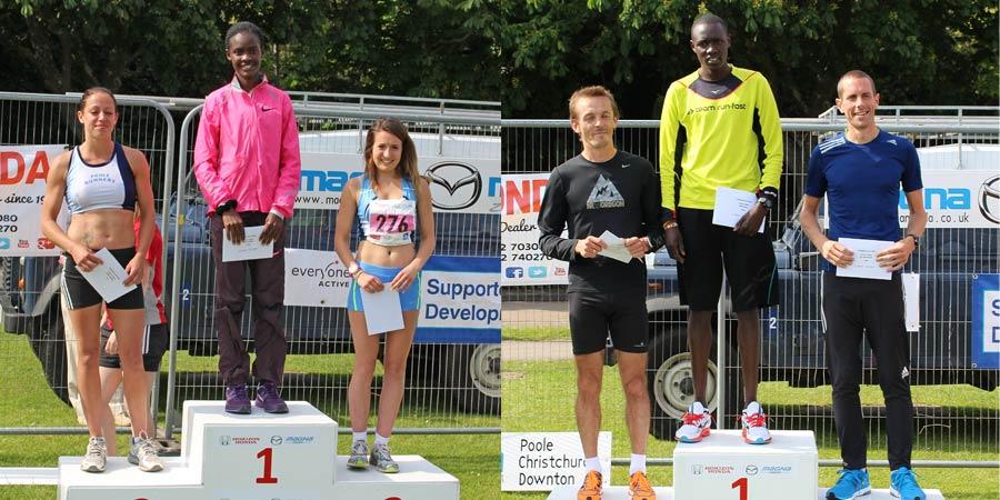Joan Chelimo wins Poole 10k