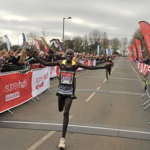 Surrey Half marathon 3