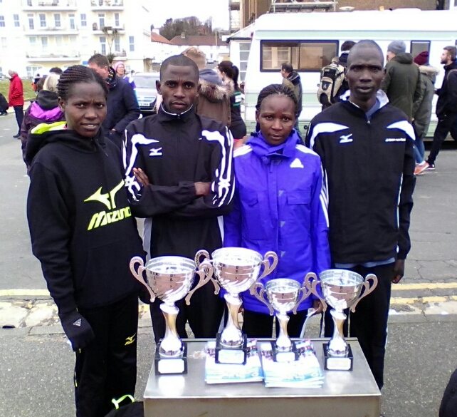 Run-Fast athletes victorious at Hastings Half
