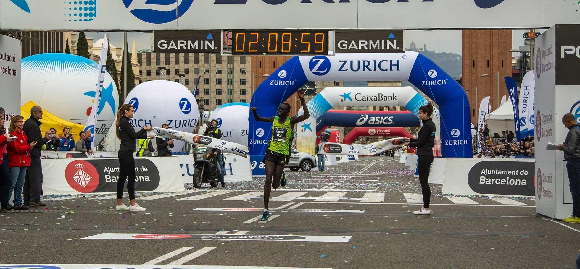 Jonah chesum wins barcelona marathon